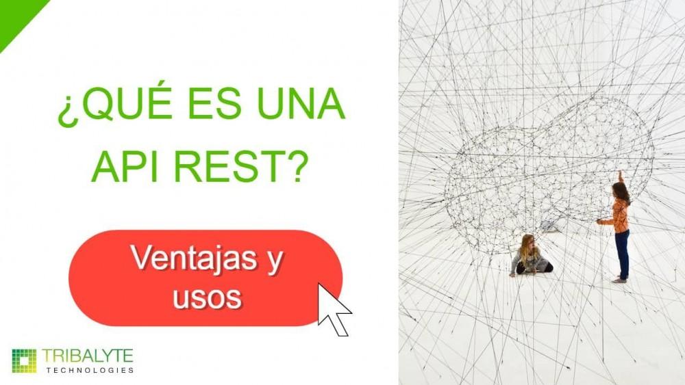 API REST   ¿Qué es una API REST? Características y usos - Tribalyte Technologies