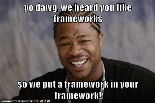 Frameworks meme