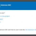Selenium-IDE-Welcome-Tribalyte