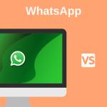 diferencias entre WhatsApp web app y WhatsApp móvil