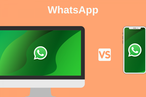 diferencias entre WhatsApp web app y WhatsApp móvil