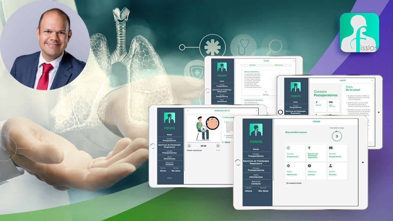 Cómo desarrollar app de salud entrevista a Fissios Carlos Alfredo Fraile Olivero
