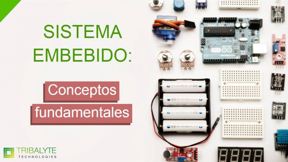 Sistema embebido y sus características | Conceptos fundamentales - Tribalyte Technologies
