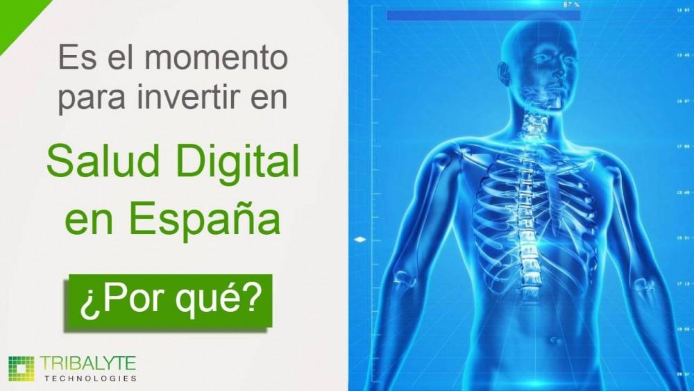 Salud digital en España   ¿Por qué es el momento para invertir?   Alessandro Barbera Formica   Tribalyte Technologies